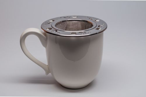 Coffee Cup Strainer The Coffee Table